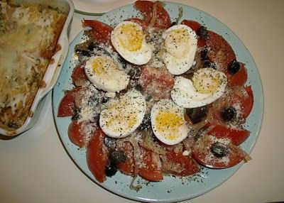 What's for Dinner: Italian Tomato Salad (Pomodori Marinati)