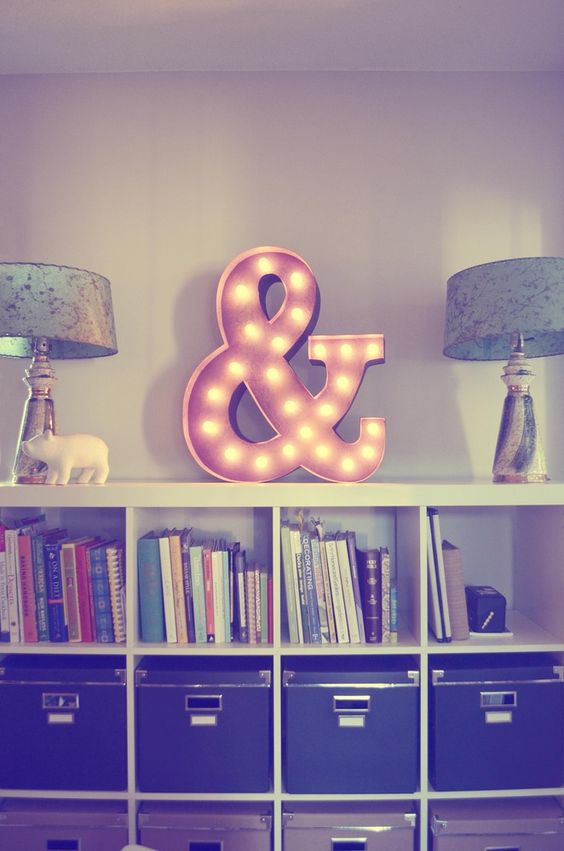Vintage Marquee Light - Letter A - Vintage Marquee Lights