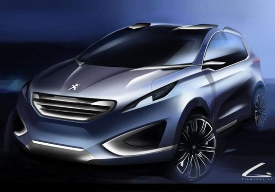 2012 Peugeot Urban Crossover Concept will be presented in Beijing Motor Show on April 2012. Peugeot Urban Crossover also performed at the Paris International Motorshow