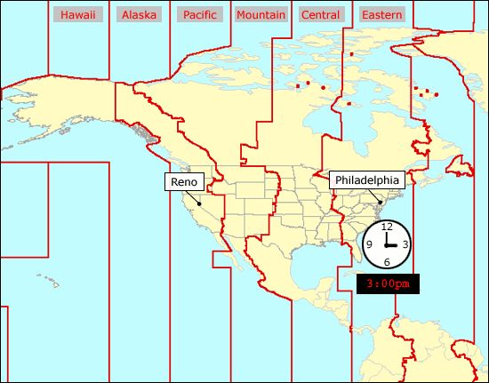 World Time Zones   World, Time zones and Travel