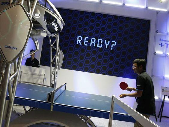 Aprenda a jugar al ping-pong con el primer robot instructor del mundo