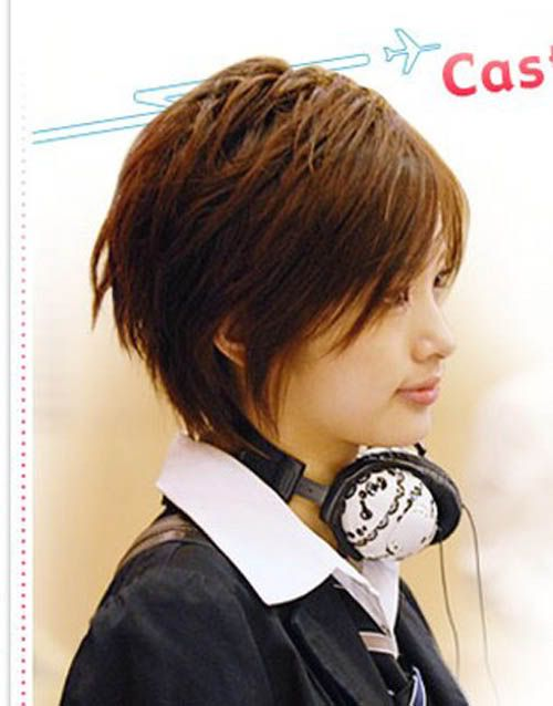 【Asian Tomboy Hairstyle】 How to Cut and Style