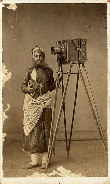 Portrait of Mohan Lal with His Camera:
