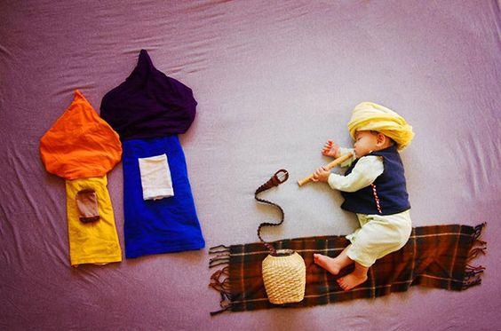 fotos criativas com bebês - http://www.cashola.com.br/blog/criancas/o-mundo-dos-sonhos-de-um-bebe-370: