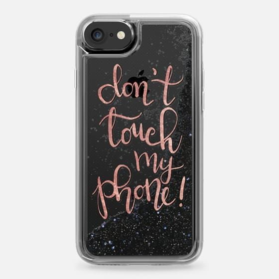 Don t Touch My Phone 2 iphone case