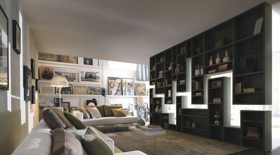 con la libreria lagolinea lago puoi arredare casa creando forme, Attraktive mobel