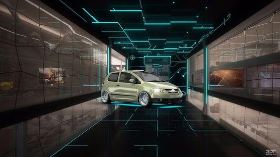 #VolkswagenFox 2011 #3DTuning