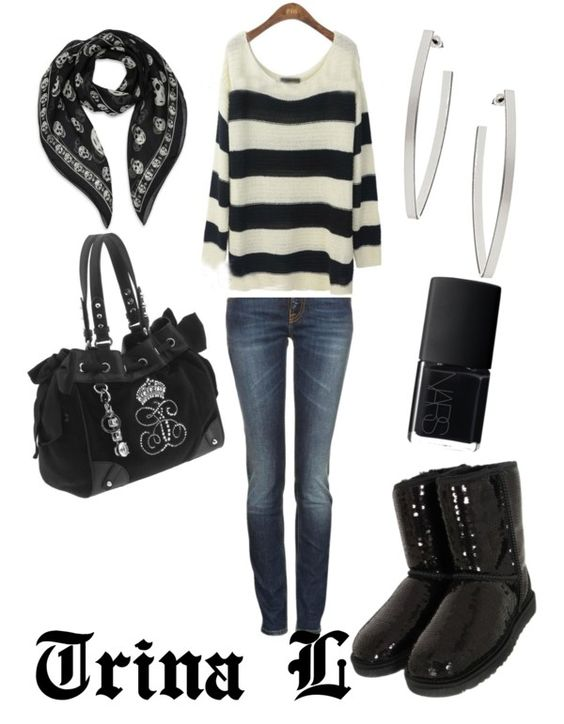 """""""How I'm walking out the door!!"""" by treensennie on Polyvore"""