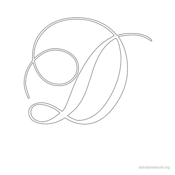 old english letter d | images of calligraphy alphabet letters old ...
