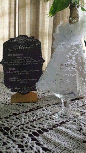 Plaquinhas e cúpula  Sandra Dias . Interiores /casamento temático