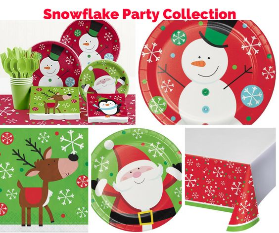 Snowflake Fun Party Banner