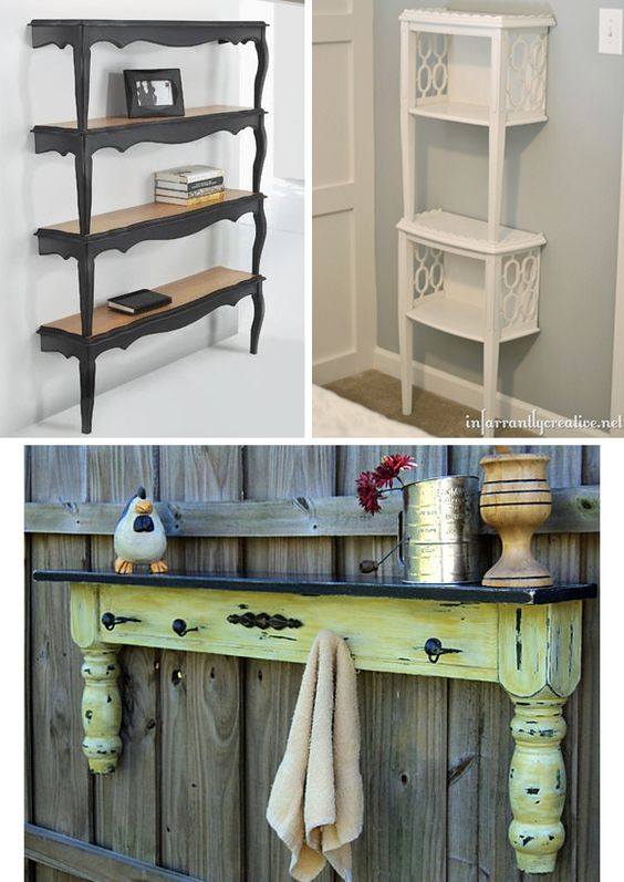 Shelving unique and boston on pinterest for Creative shelf ideas