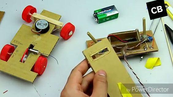 How To Make A Cardboard Rc Car With R Control Cardboard Rc Cars Car