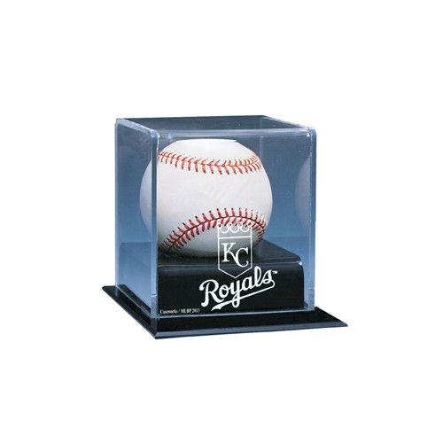 Kansas City Royals MLB Single Baseball Display