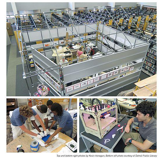 ::: LECTURA LAB ::: Makerspaces, espacios de creación en la biblioteca