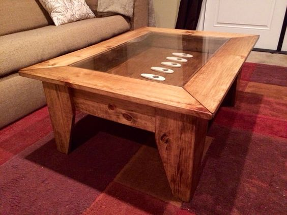 Custom Coffee Table With Hinged Lift Top To By Jermcreationz Furniturefun Pinterest Tops