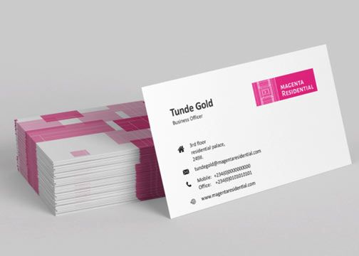 Single Vs Double Sided Business Card Double Sided Business Cards Printing Business Cards Business Cards Online
