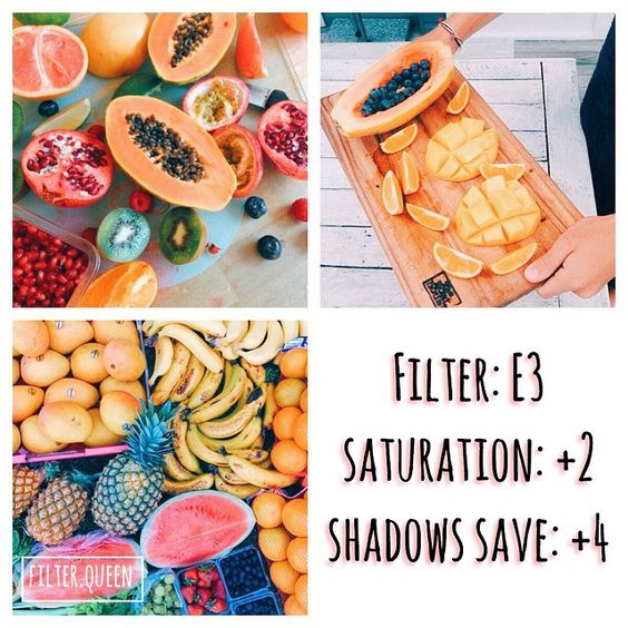 Instagram media by filter.queen_ - fruity filter - looks best with: bright food! - #vscocam #vsco #vscocamfilters - free alternative A1 Temperature:-2 Saturation:+2: