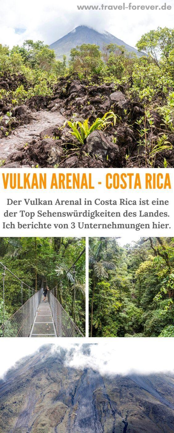 Vulkan Arenal 3 Unternehmungen Am Fusse Des Vulkans Costa Rica Reise Arenal Unternehmungen