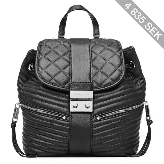 Michael Michael Kors Elisa Small Leather Backpack