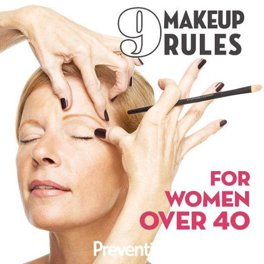 9 Makeup Rules For Women Over 40 | Fitness quotes, Like ...