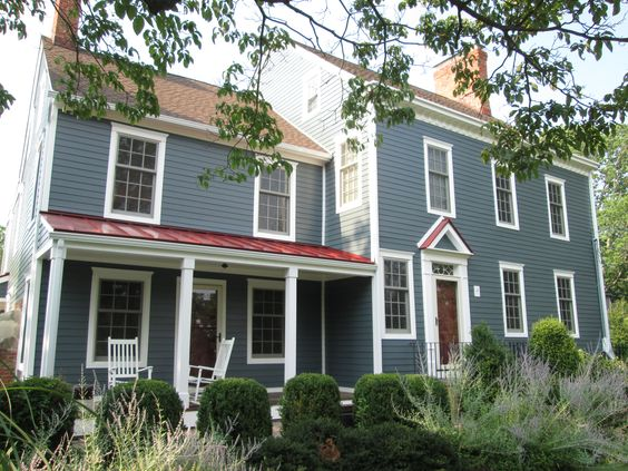 Best James Hardie Fiber Cement Siding In Boothbay Blue For This 400 x 300