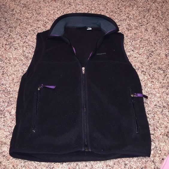 Patagonia Synchilla Vest Black, worn only a couple times! Patagonia Jackets & Coats Vests