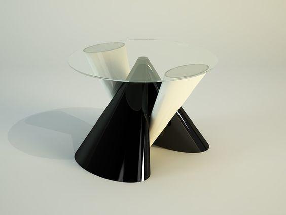 PROXIMO - bar table concept by Svilen Gamolov, via Behance