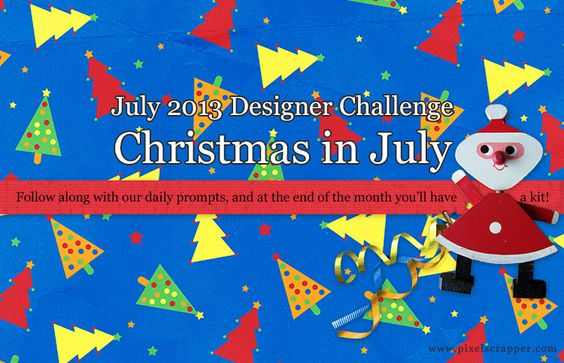 DESIGNER: Christmas in July Challenge