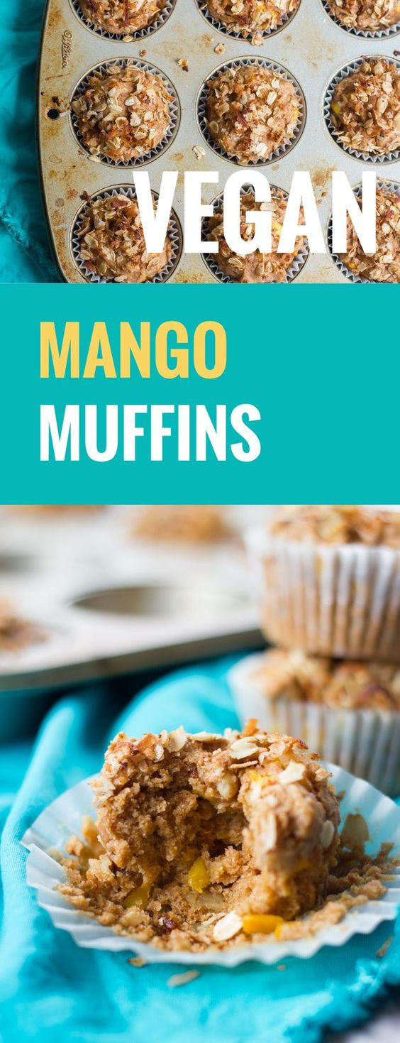 Mango muffins, Mango and Muffins on Pinterest