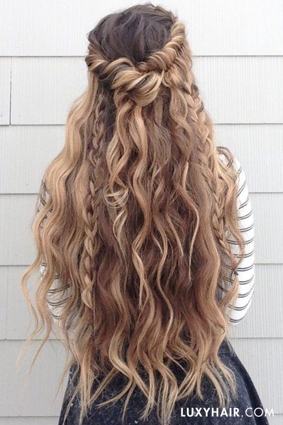 Blondes, Hairstyles and Highlights on Pinterest