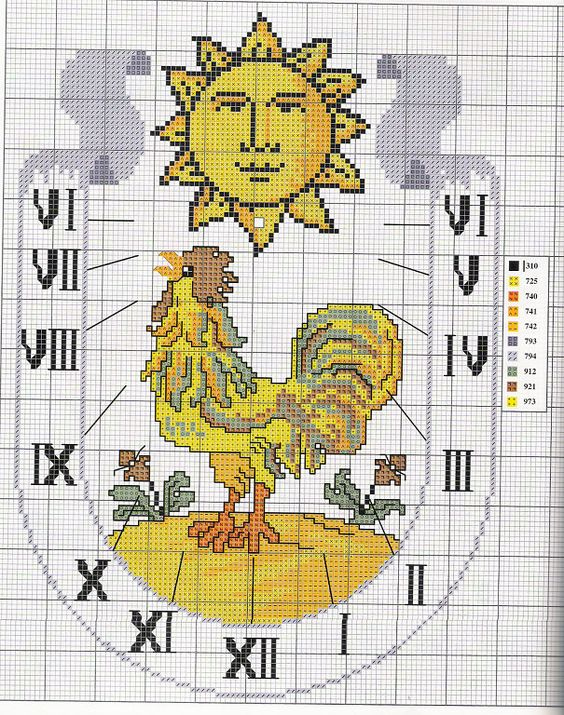 relojes a punto de cruz | Aprender manualidades es facilisimo.com