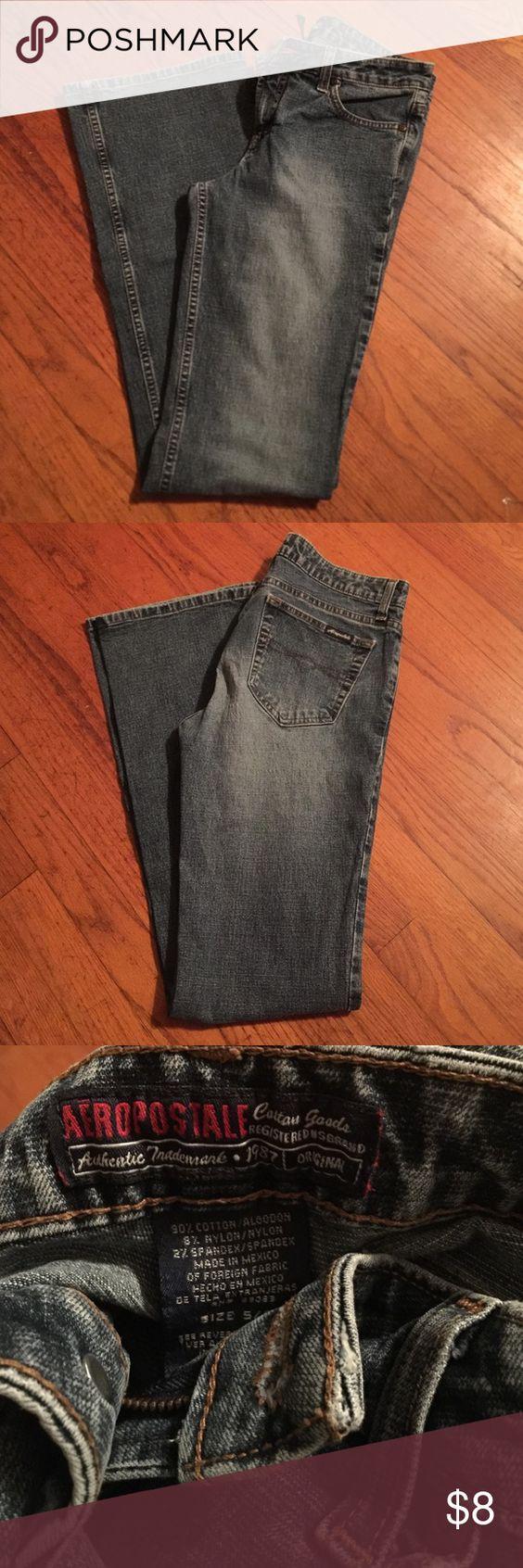 Aeropostale Jeans Blue denim jeans. Bootcut. Long in length. Aeropostale Jeans Boot Cut