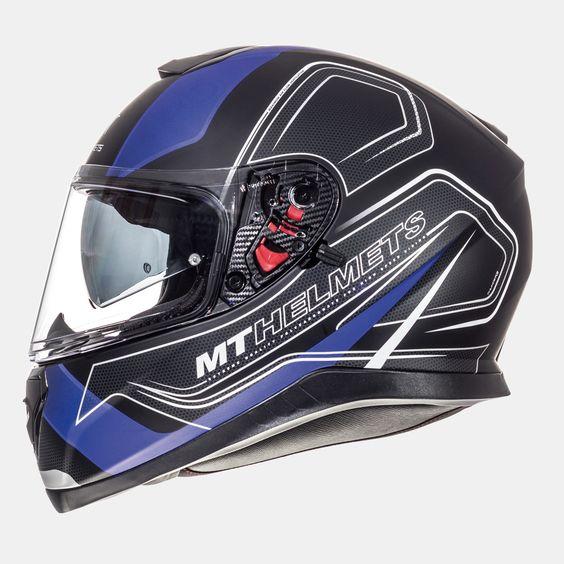 MT THUNDER3 sv TRACE Helmets (BLU). *DOT//ECE*