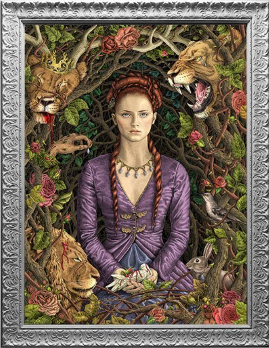The Purple Wedding Sansa Stark Art Asoiaf Art Westeros Fashion