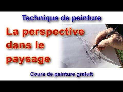 Cours De Peinture La Perspective Dans Le Paysage Debutant