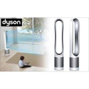 Dyson タワーファン リモコン付 ホワイト シルバー Dyson Pure Cool ピュアクール Am11ws ダイソン 扇風機 リモコン 扇風機 ダイソン