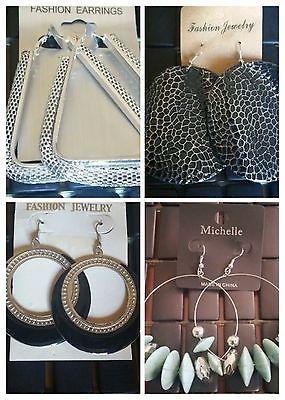 Women's Trendy Party Large Dangle Fashion Earrings