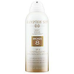 Sephora: Hampton Sun : SPF 8 Continuous Mist Sunscreen with Bronzer : sunscreen-bath-body