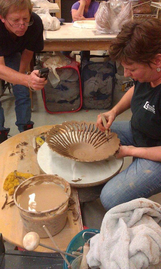 Clay Club: Clay Club at Village Potters