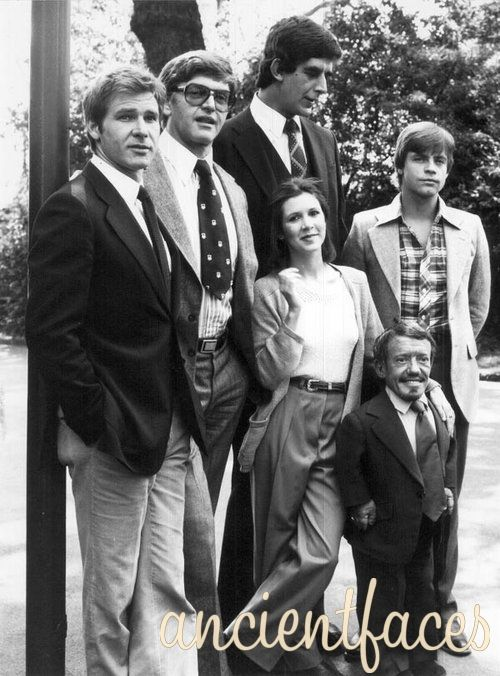 Star Wars cast ca. 1977