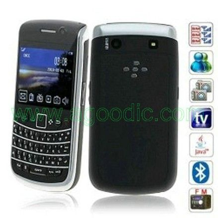 H9700C 3 sim Cards TV QWERTY Cell Phone