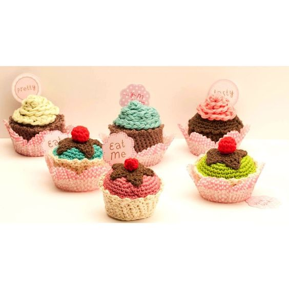 Amigurumi Cupcake Keychain : Pinterest The world s catalog of ideas