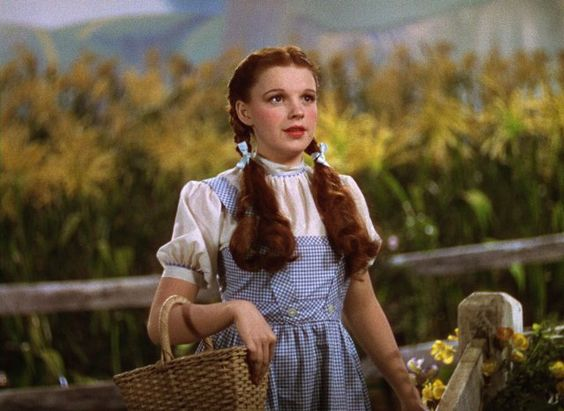 Judy Garland. I always thought she was so beautiful and talented. When I was little I wanted to be just like her:
