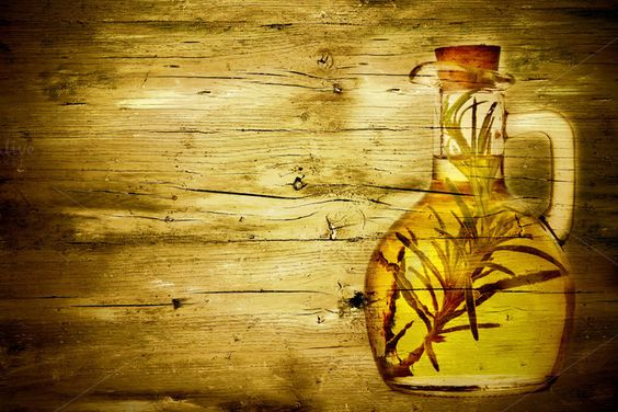 Olive oil with rosemary by MARUBAKIS on @creativemarket