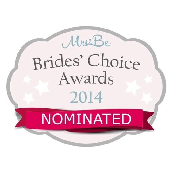 Thrilled to be nominated in category of Best Candy Buffet Provider. Mrs2be Brides Choice Awards 2014.