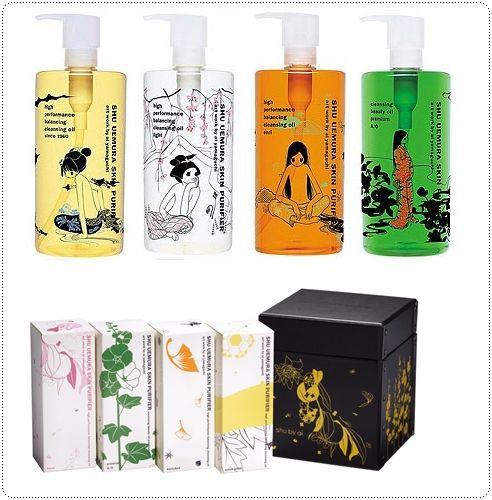 ai yamaguchi × shu uemura cleansing oil