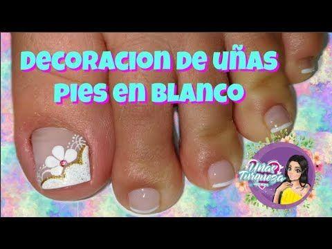 Diseños de uñas para pies para principiantes paso a paso