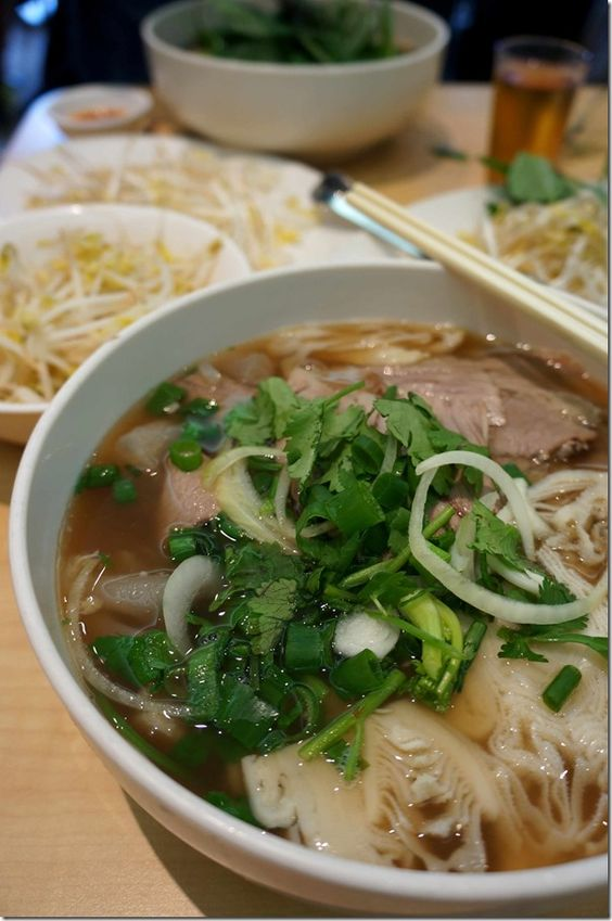 All that i want in vietnamese pho brisket tripe and beef for Asian cuisine and pho