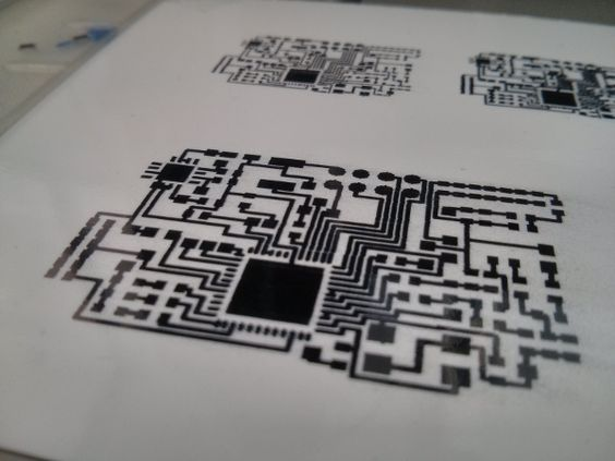 Create circuit boards in minutes, from home, at the cost of a cup of coffee - Squink prints conductive ink and assembles your circuit